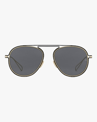 rag & bone Round Metal Aviator Sunglasses 1