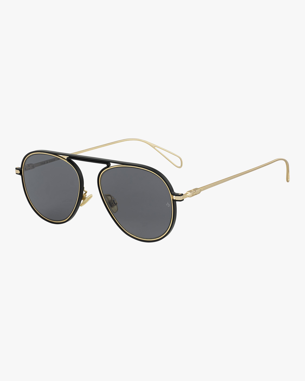 rag & bone Round Metal Aviator Sunglasses 2
