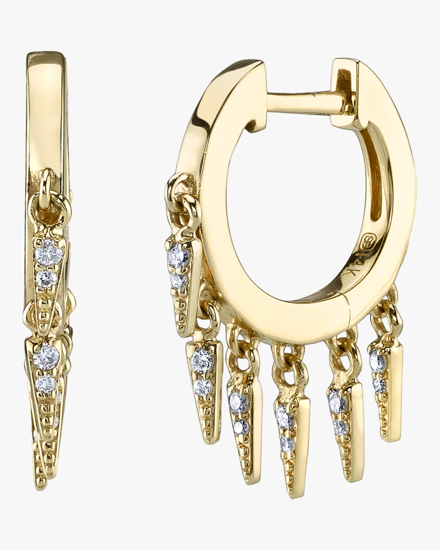 Pavé Fringe Earrings