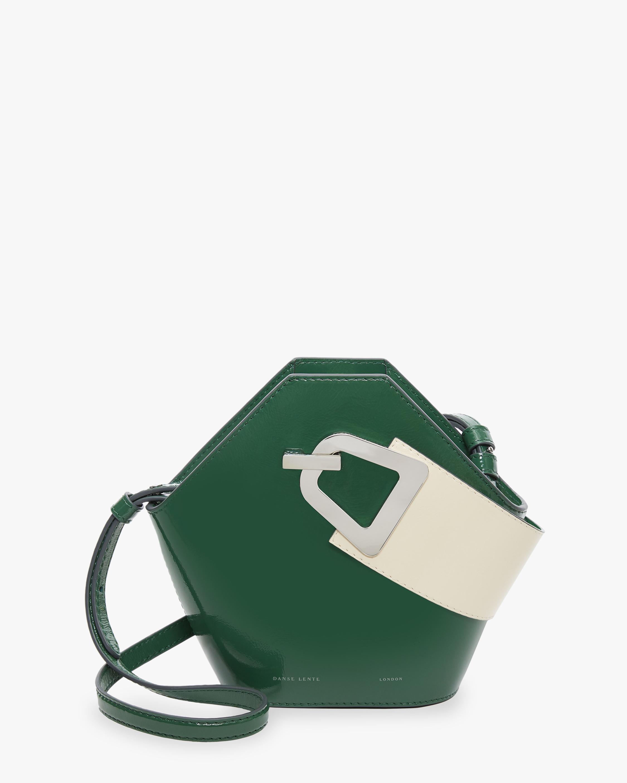 Danse Lente Patent Leather Mini Johnny Bag 0