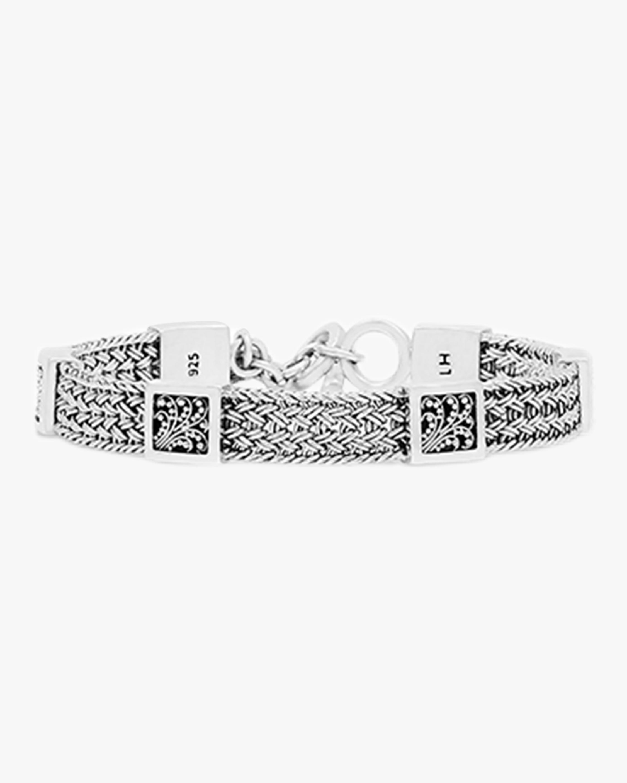 Classic Small Textile Weave Bracelet