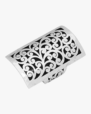 Lois Hill Classic Signature Carved Scroll Ring 2