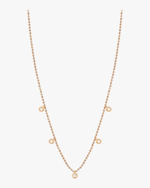Five Solitaire Necklace