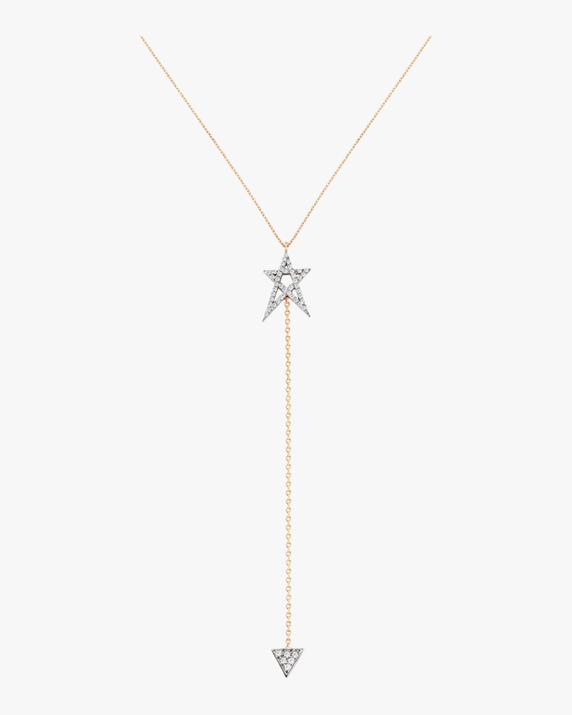 Struck Doodlestar Lariat Necklace