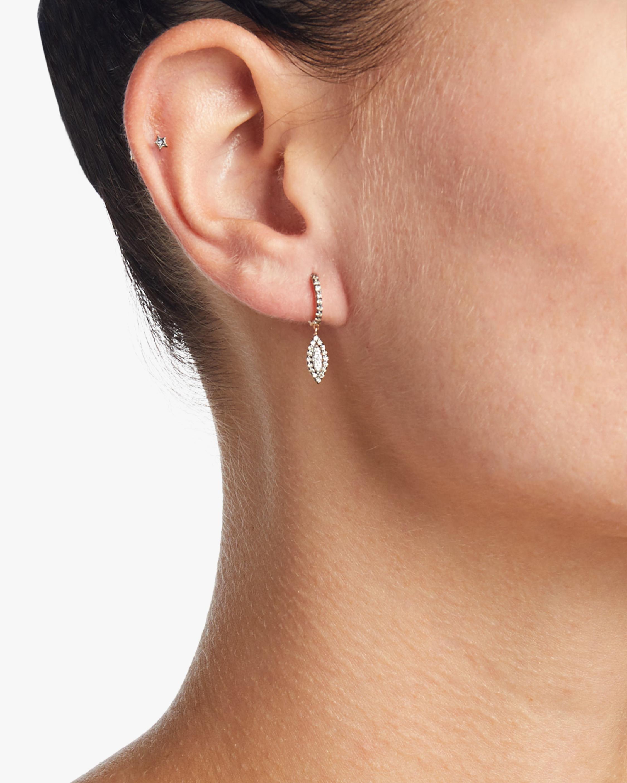 10th Eye Haven Hoop Single Earring