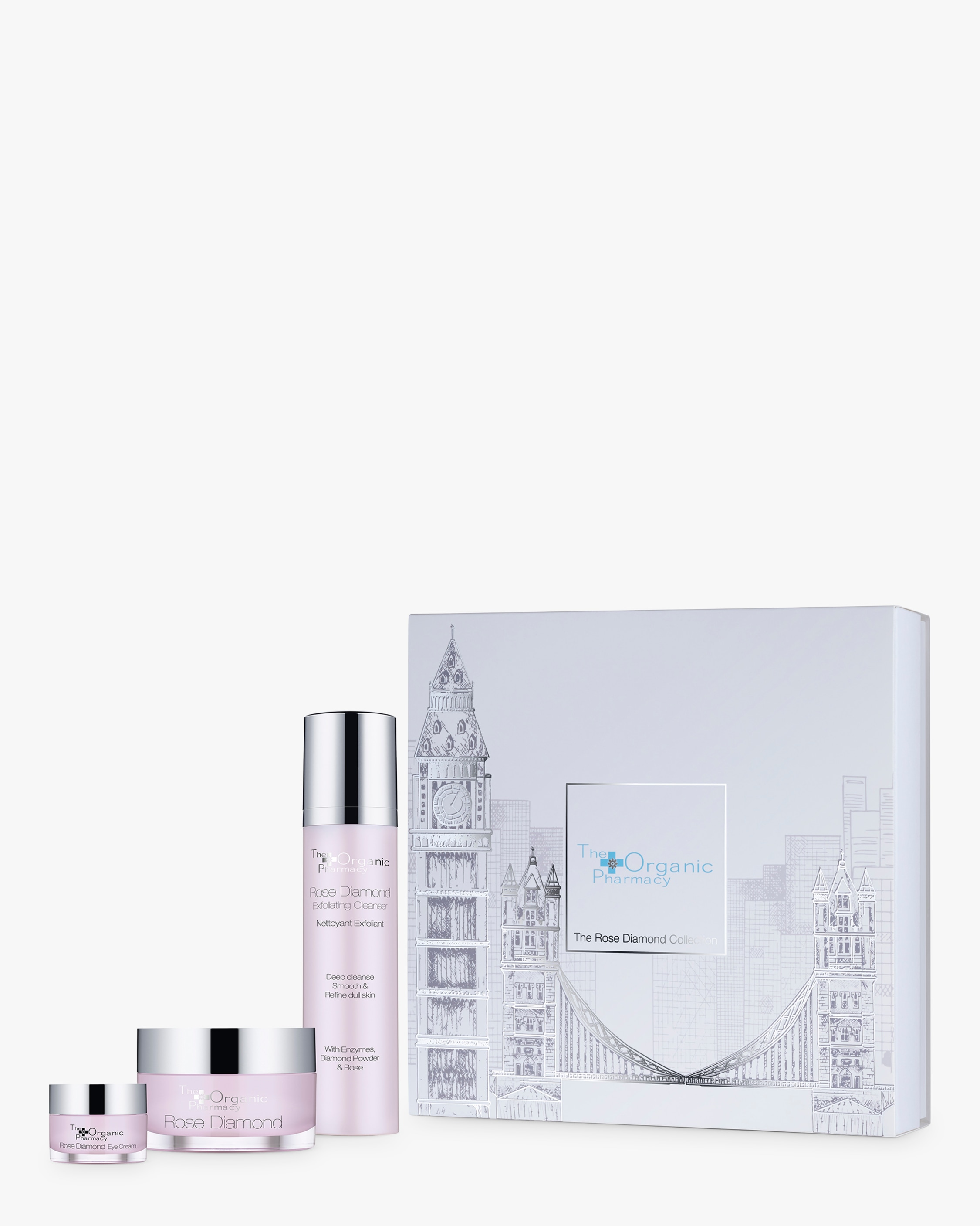 The Organic Pharmacy The Rose Diamond Collection 1