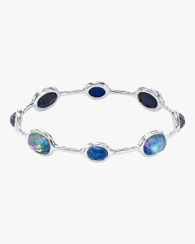 Rock Candy 8-Stone Bangle Bracelet