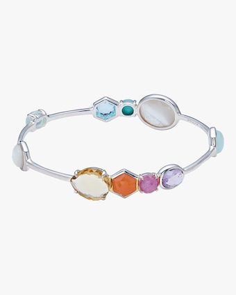 Rock Candy Gelato 10-Stone Bangle Bracelet