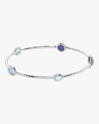 Rock Candy 5-Stone Eclipse Bangle Bracelet