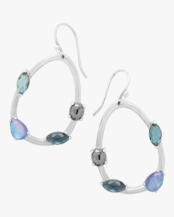 Rock Candy Small Pear Eclipse Earrings