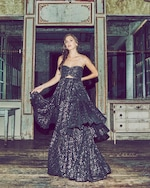 Mestiza Brianna Tiered Gown 1