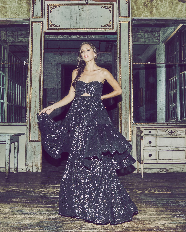Brianna Tiered Gown