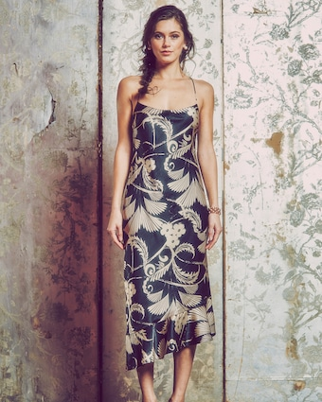 Clara Backless Midi Dress