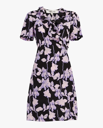 Savilla Mini Wrap Dress