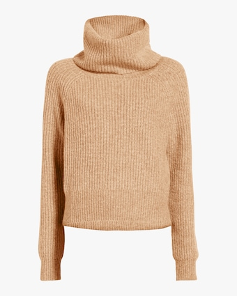 Pax Wool Blend Cowl Neck Sweater