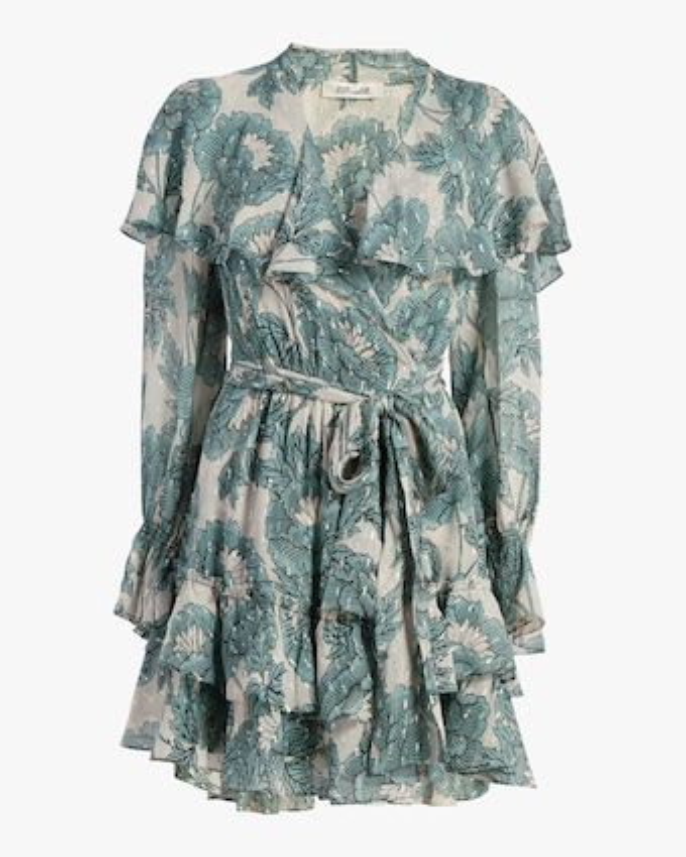 Simone Mini Wrap Dress