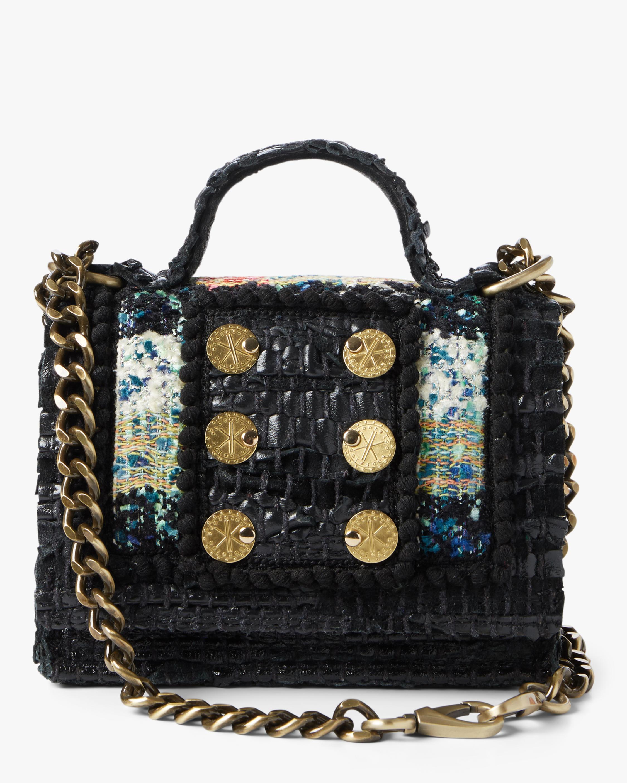 Petite Manhattan Tweed Shoulder Bag