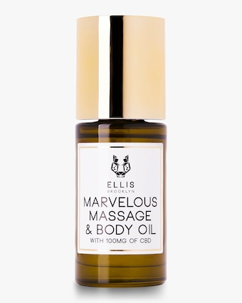 Ellis Brooklyn Marvelous Massage and Body Oil with CBD 30ml 1