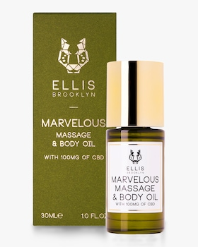 Marvelous Massage and Body Oil with CBD 30ml