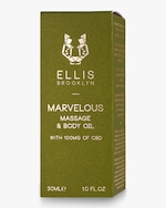 Ellis Brooklyn Marvelous Massage and Body Oil with CBD 30ml 2