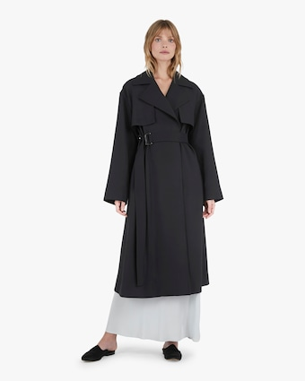 Michelle Waugh The Carina Oversized Belted Trench Coat 2
