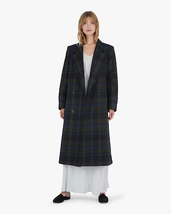 Michelle Waugh The Melanie Double Breasted Wool Coat 2