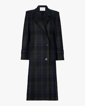 The Melanie Double Breasted Wool Coat