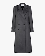Michelle Waugh The Melanie Double Breasted Cashmere Coat 0