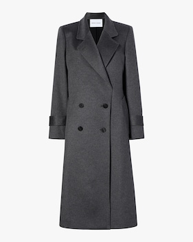 The Melanie Double Breasted Cashmere Coat
