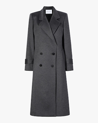 Michelle Waugh The Melanie Double Breasted Cashmere Coat 1