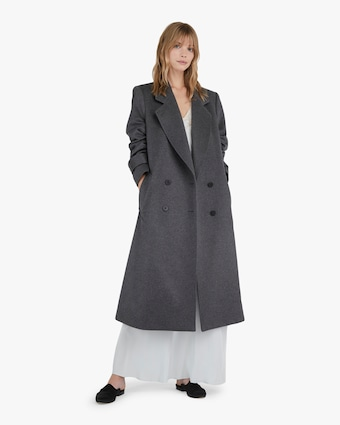 Michelle Waugh The Melanie Double Breasted Cashmere Coat 2