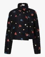 Michelle Waugh The Khirma Short Cropped Puffer Coat 0
