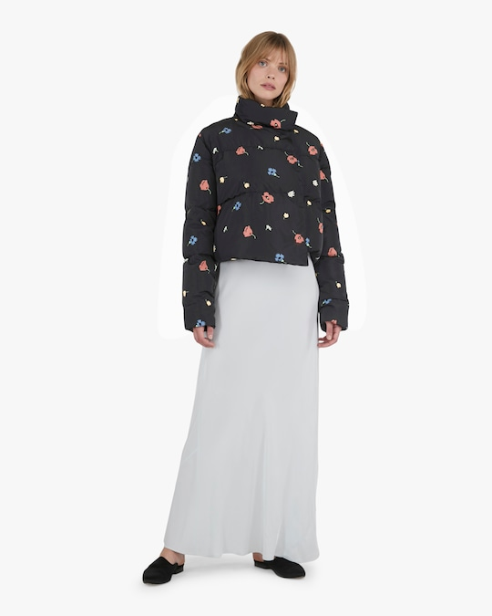 Michelle Waugh The Khirma Short Cropped Puffer Coat 1