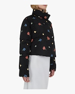 Michelle Waugh The Khirma Short Cropped Puffer Coat 3