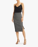 McQ Alexander McQueen Lace-Up Midi Skirt 1