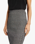 McQ Alexander McQueen Lace-Up Midi Skirt 3