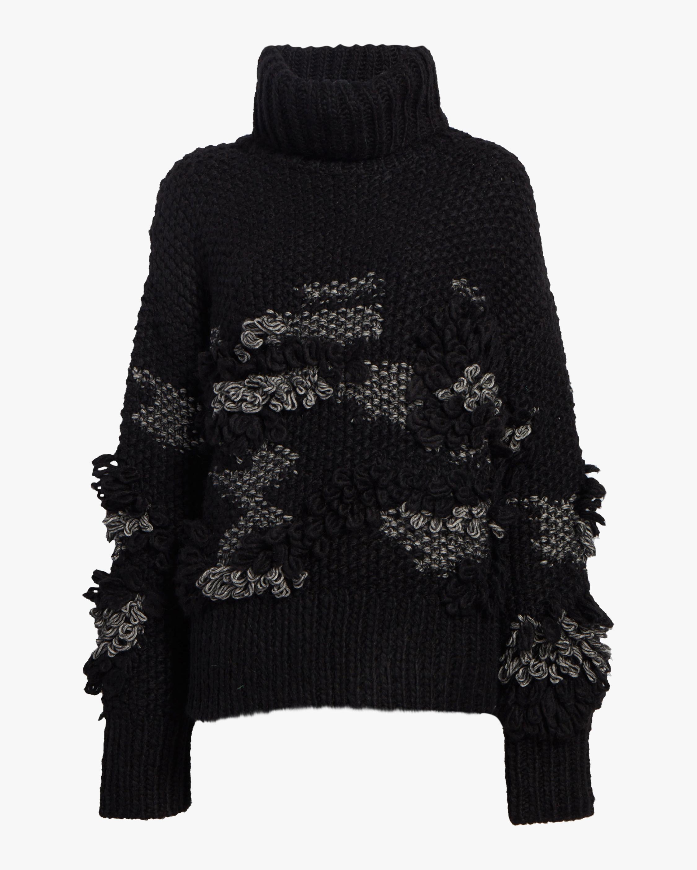 Crochet Tassel Sweater