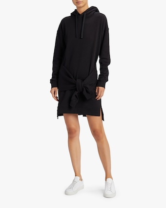 Knot Sleeve Hood Dress