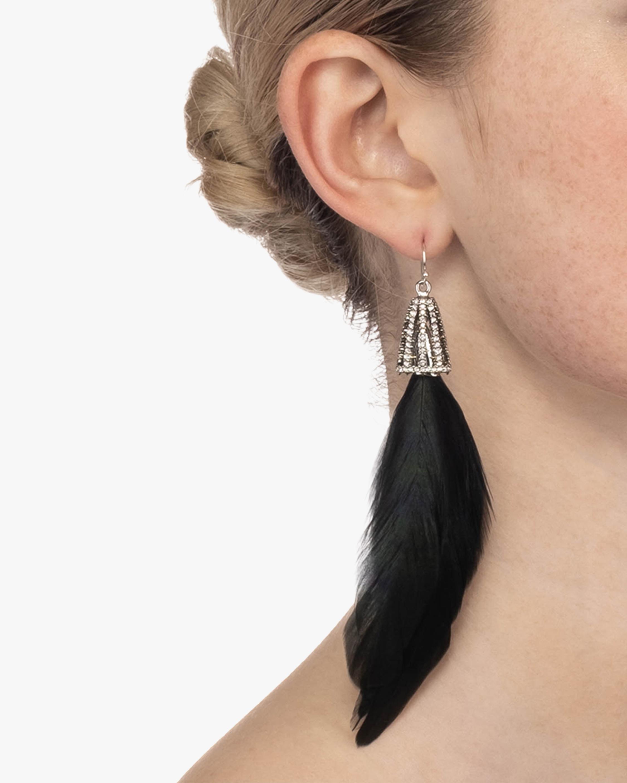 Feather Wire Earrings