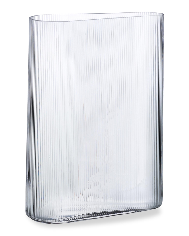 Nude Glass Mist Vase Short 0