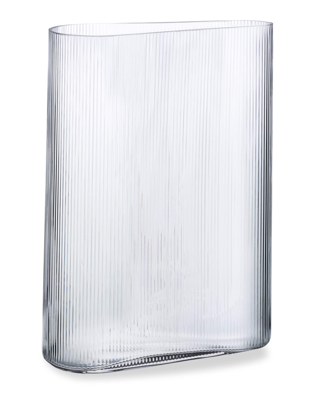 Nude Glass Mist Vase Short 2