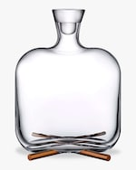 Nude Glass Camp Whisky Bottle 0