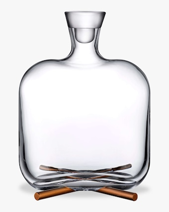 Nude Glass Camp Whisky Bottle 2