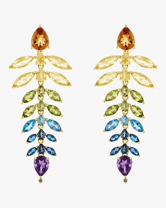 Jane Kaye Rainbow Chandelier Earrings 2