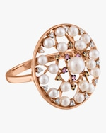 Jane Kaye Pearl Cocktail Ring 0