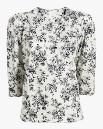 Printed Cotton Blouse