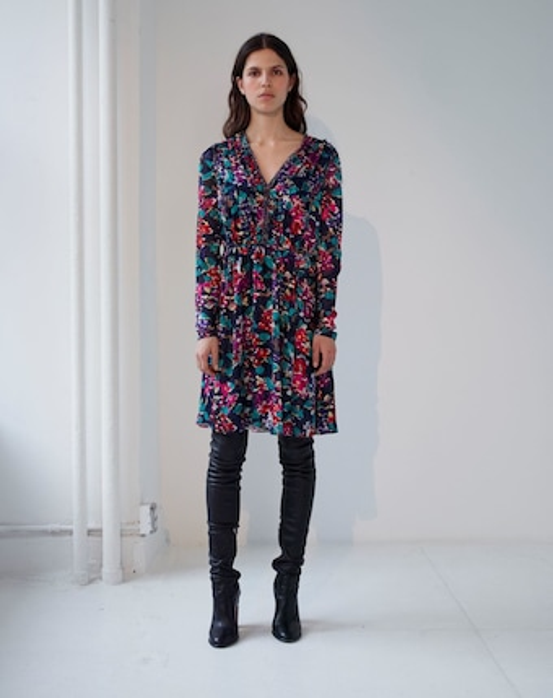 Motion Floral Dress
