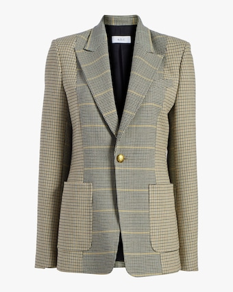 Martel Plaid Blazer
