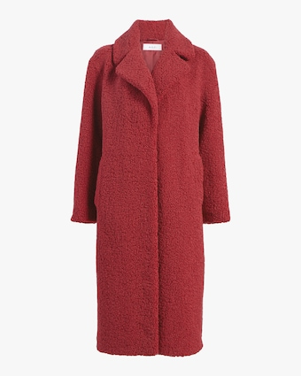 Caron Faux Shearling Coat