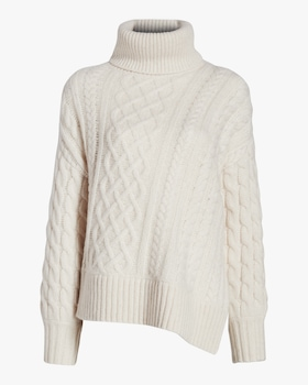 Nevelson Cable Knit Sweater